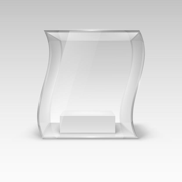 Vitrina de cristal Vector Premium
