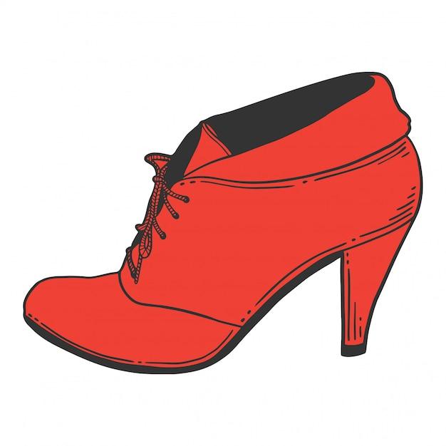 De Zapatos Premium AltoDescargar Tacón Vectores Aq43j5RL