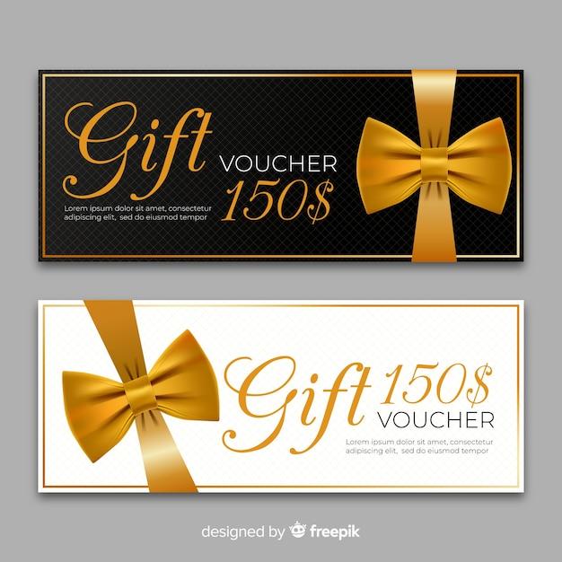 150 $ geschenkgutschein Kostenlosen Vektoren