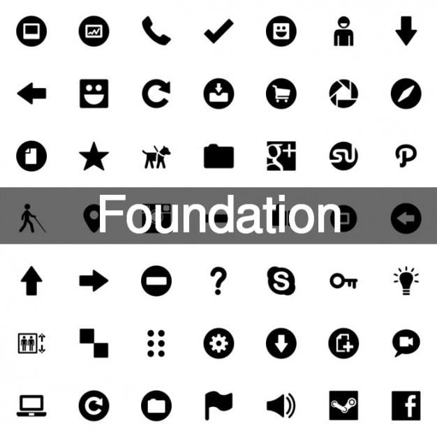 150 Grundsymbole | Download der kostenlosen Vektor