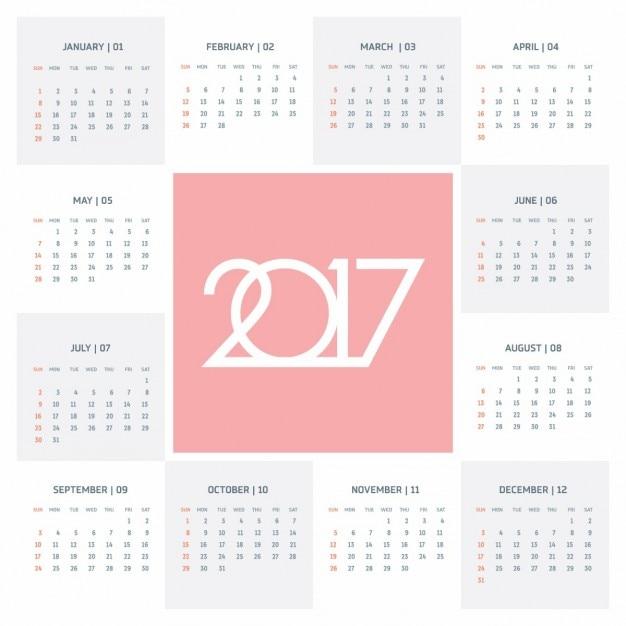 2017 Creative-Schriftzug und