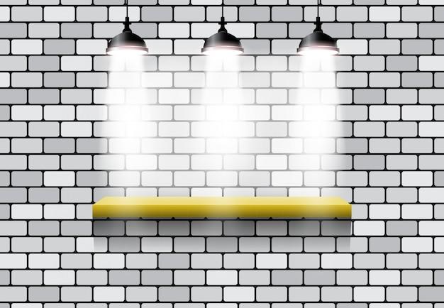 3. lichteffekt-standstein Premium Vektoren