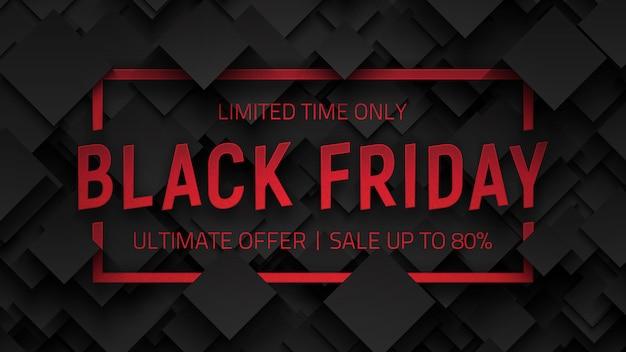 3d black friday sale Premium Vektoren