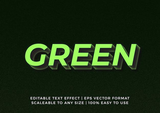3d bold graphic title texteffekt Premium Vektoren