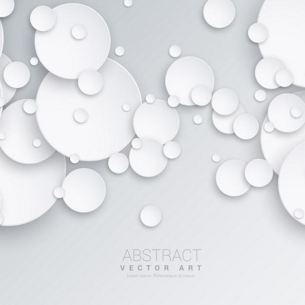 3d kreise abstrakten hintergrund download der kostenlosen vektor. Black Bedroom Furniture Sets. Home Design Ideas