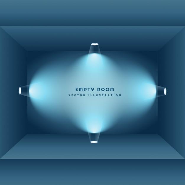 3d leeren raum mit licht download der kostenlosen vektor. Black Bedroom Furniture Sets. Home Design Ideas