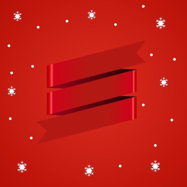 3d rotes band Premium Vektoren