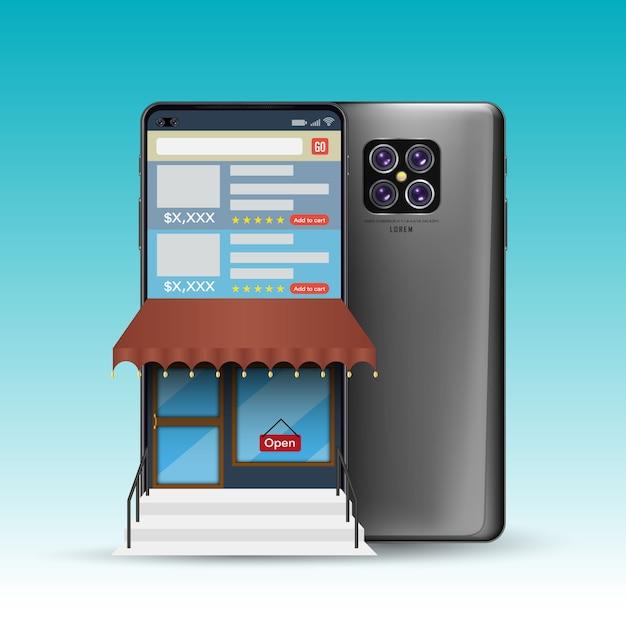 3d-smartphone Premium Vektoren