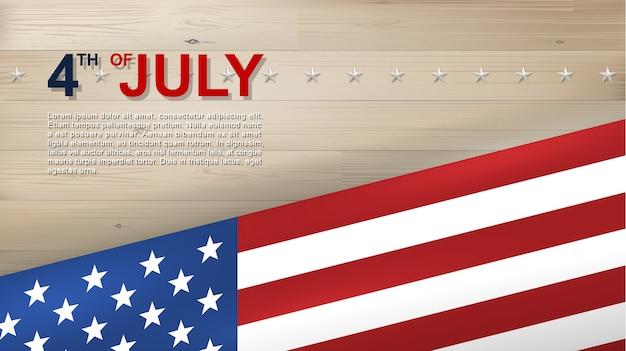 4. juli hintergrund. Premium Vektoren