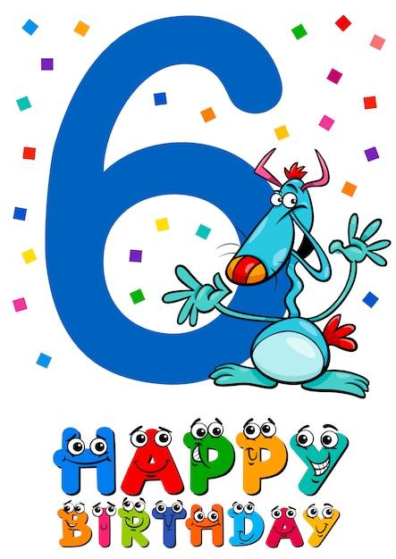 6 Geburtstag