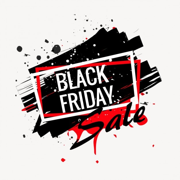 abstract black friday sale poster download der kostenlosen vektor. Black Bedroom Furniture Sets. Home Design Ideas