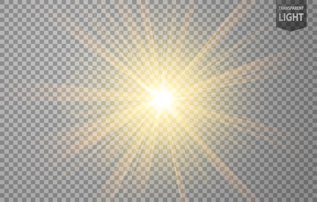 Abstract gold rays glanz Premium Vektoren