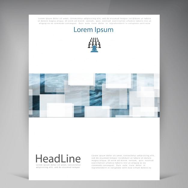 Flyer Download Broschüre Kostenlosen Moderne Vector Der Abstract gHqvPAw6