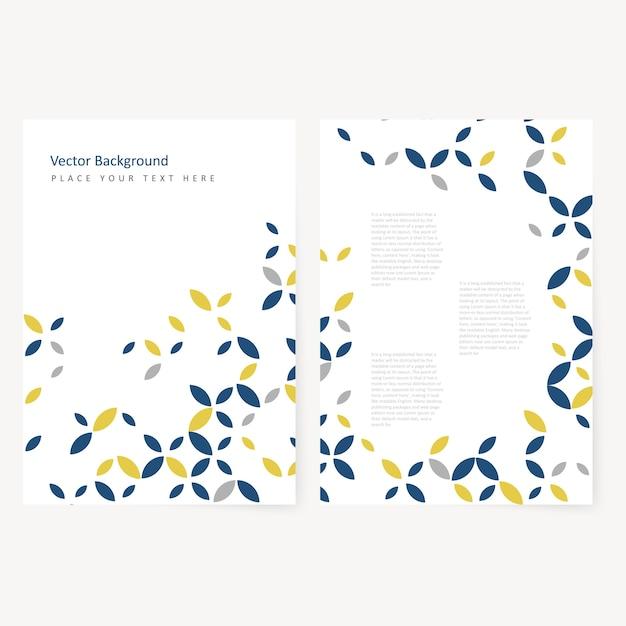 Abstract Vorlage Flyer | Download der kostenlosen Vektor