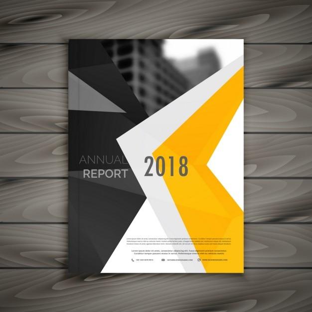 Abstrakt Business-Broschüre Vorlage Jahresbericht Deckblatt im A4 ...