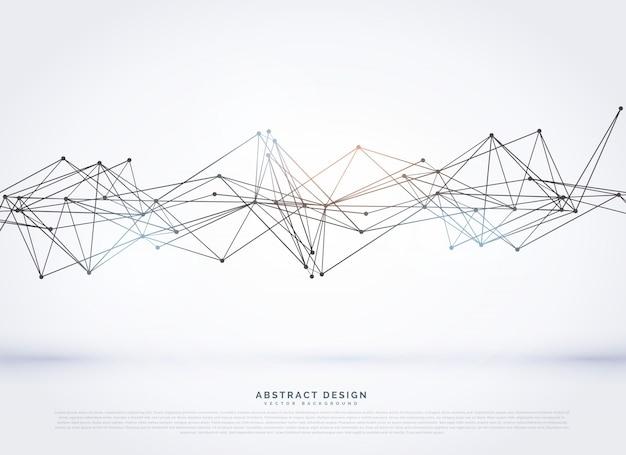 Abstrakt Drahtmodell-Mesh auf weißem Hintergrund | Download der ...