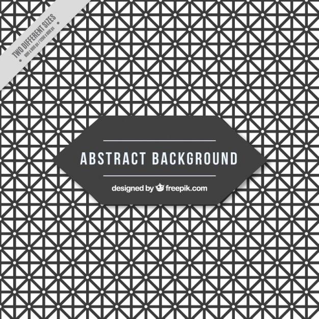 Abstrakt hintergrund voller geometrische formen Kostenlosen Vektoren