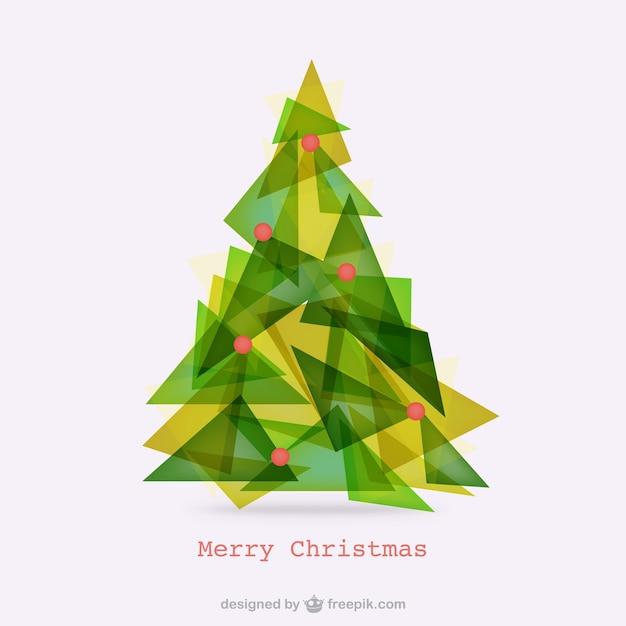 Abstrakt polygonale weihnachtsbaum download der - Weihnachtsbaum vektor ...