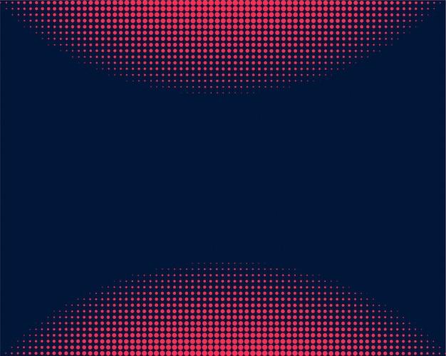 Abstrakt und kreativ von der kreishalbtonpunkt-hintergrundschablone Premium Vektoren