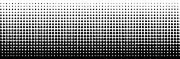 Abstrakte dunkle halbtonpunkt-hintergrundschablone Premium Vektoren