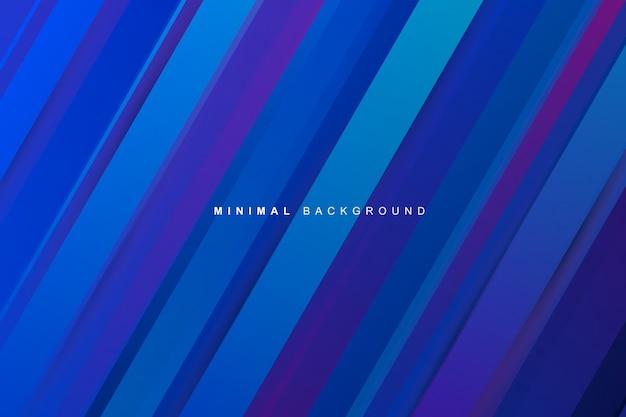 Abstrakte dynamische moderne vibrierende blaue steigung streift beschaffenheitshintergrund Premium Vektoren