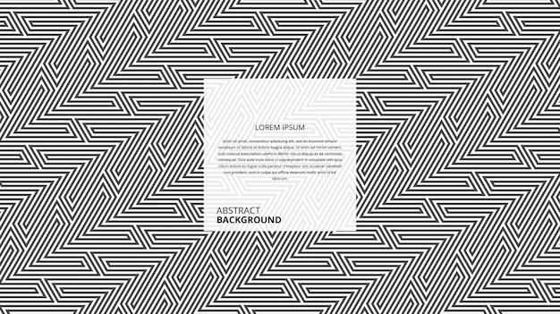 Abstrakte geometrische dreieck diagonale muster Premium Vektoren