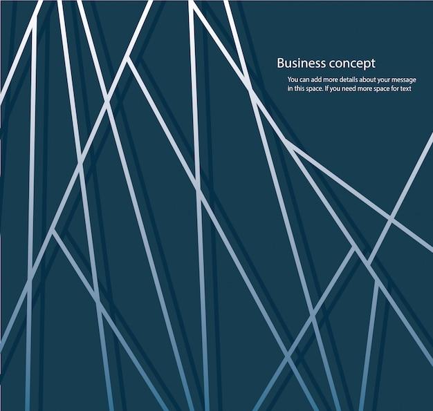 Abstrakte linie blauer hintergrund und platz für schreiben vektor Premium Vektoren