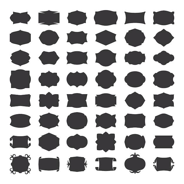 Abstrakte linie geometrischer hintergrund. dünne linie geometrisches muster mit text. vektor-illustration Premium Vektoren