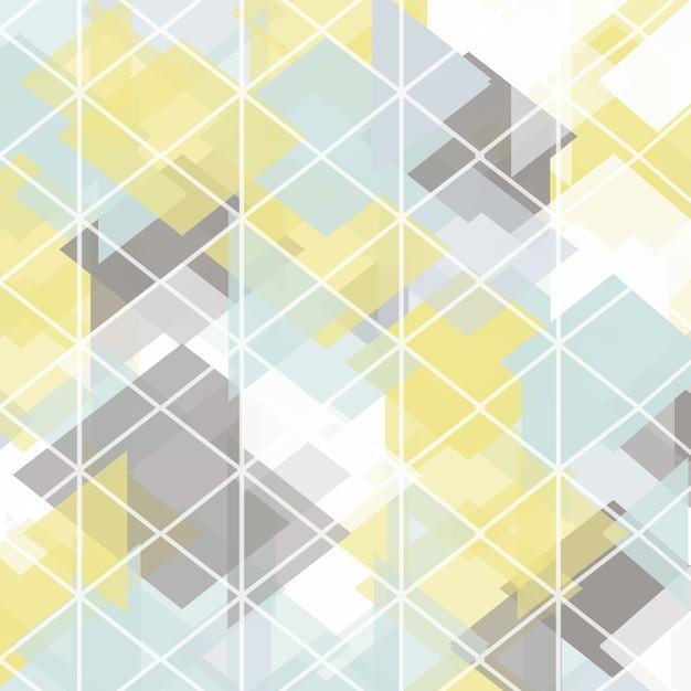 Abstrakte Low-Poly-Design Kostenlose Vektoren