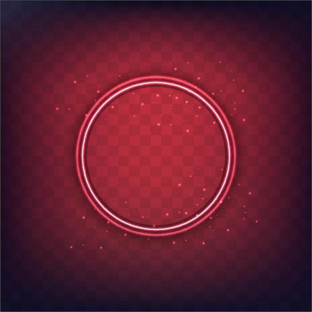 Abstrakte moderne Kreis-Frame-Hintergrund Kostenlose Vektoren