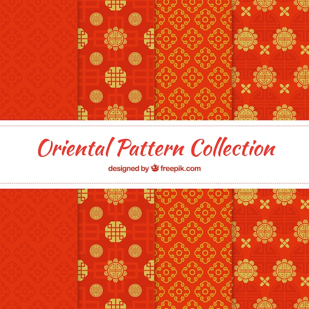 abstrakte muster der roten dekorativen formen download der kostenlosen vektor. Black Bedroom Furniture Sets. Home Design Ideas