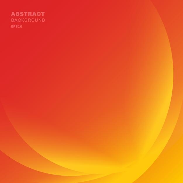Abstrakte rote lichtlinien bewegen hintergrund wellenartig Premium Vektoren