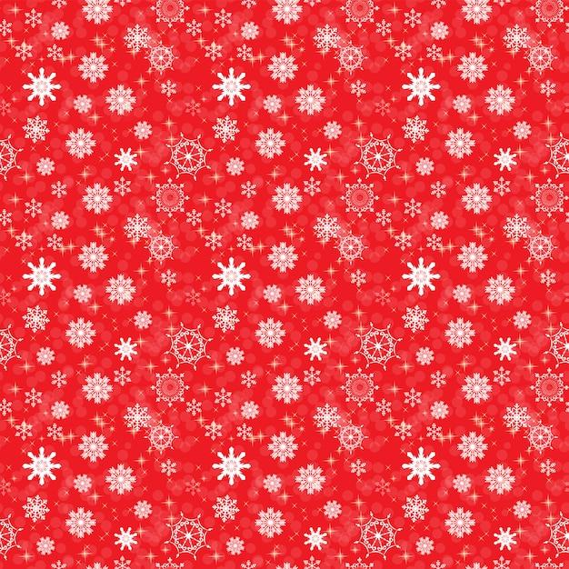 Abstrakte schönheit weihnachten und neujahr mit schnee und schneeflocken. nahtlose muster. Premium Vektoren