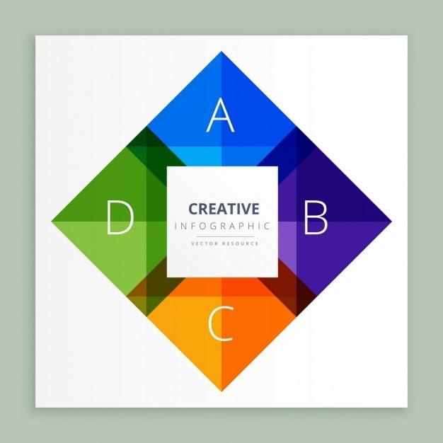 Abstrakte schritte design Kostenlosen Vektoren