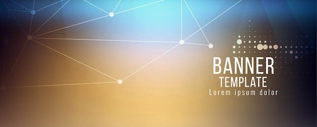 Abstrakte technologie banner designvorlage Kostenlosen Vektoren