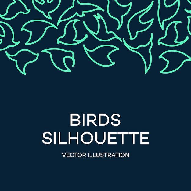 Abstrakte vogel-logoschablone kreatives tauben-firmenzeichengeschäftstechnologie-konzeptsymbol Kostenlosen Vektoren