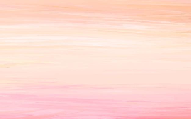Abstrakter acrylhintergrund, orange und rosa Kostenlosen Vektoren