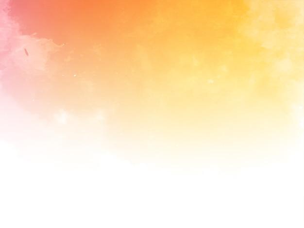 Abstrakter aquarellbeschaffenheitshintergrundvektor Kostenlosen Vektoren