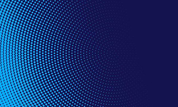 Abstrakter blauer halbtonhintergrund Kostenlosen Vektoren