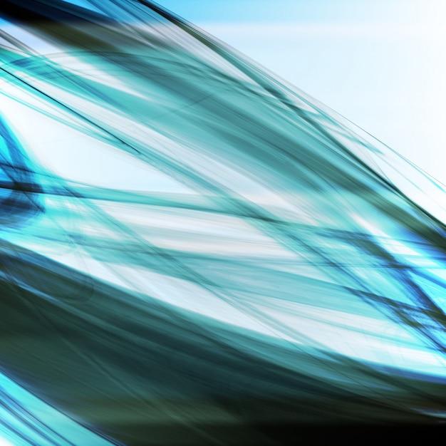 Abstrakter blauer hintergrund Premium Vektoren