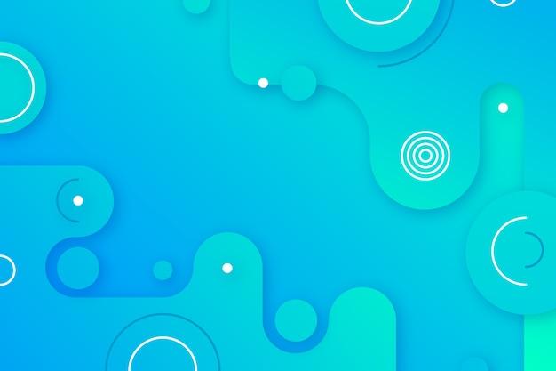 Abstrakter blauer hintergrund Kostenlosen Vektoren