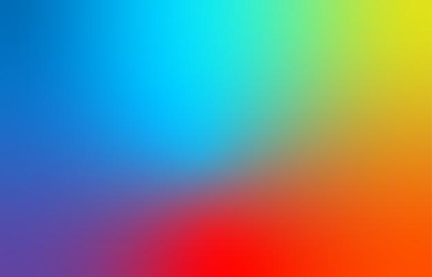 Abstrakter blauer, roter und gelber unscharfer farbverlaufshintergrund für web, präsentationen und drucke. Premium Vektoren