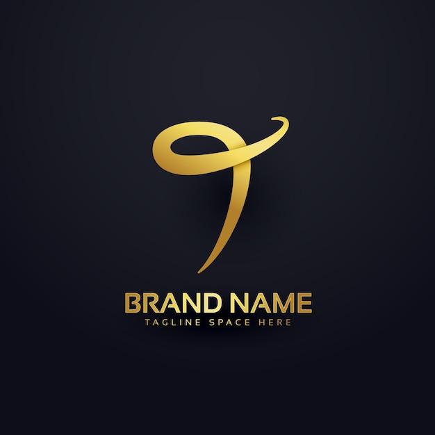 Abstrakter brief t logo design konzept Kostenlosen Vektoren