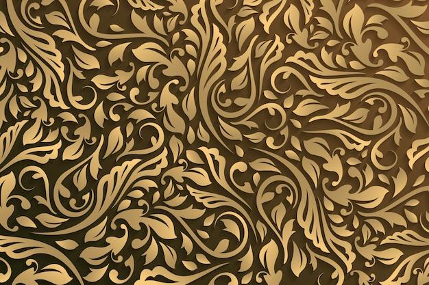 Abstrakter dekorativer blumenhintergrund Kostenlosen Vektoren