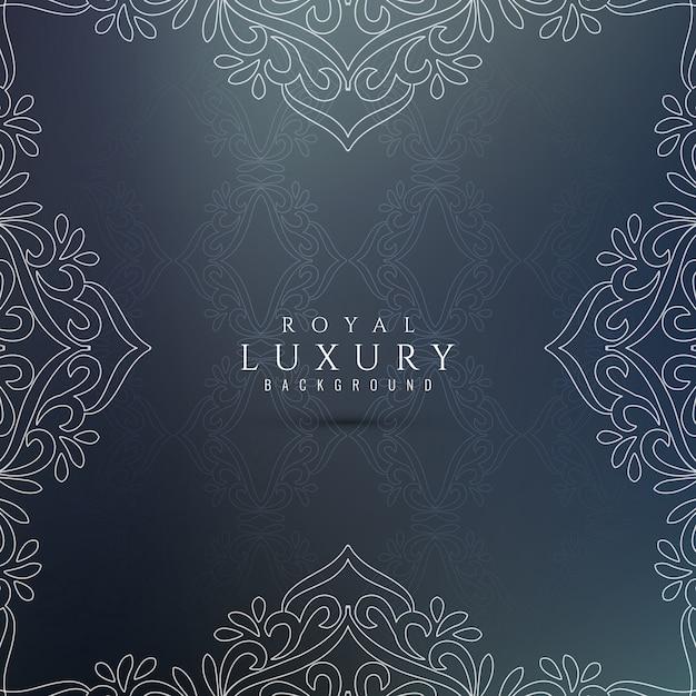 Abstrakter dekorativer luxushintergrund Kostenlosen Vektoren