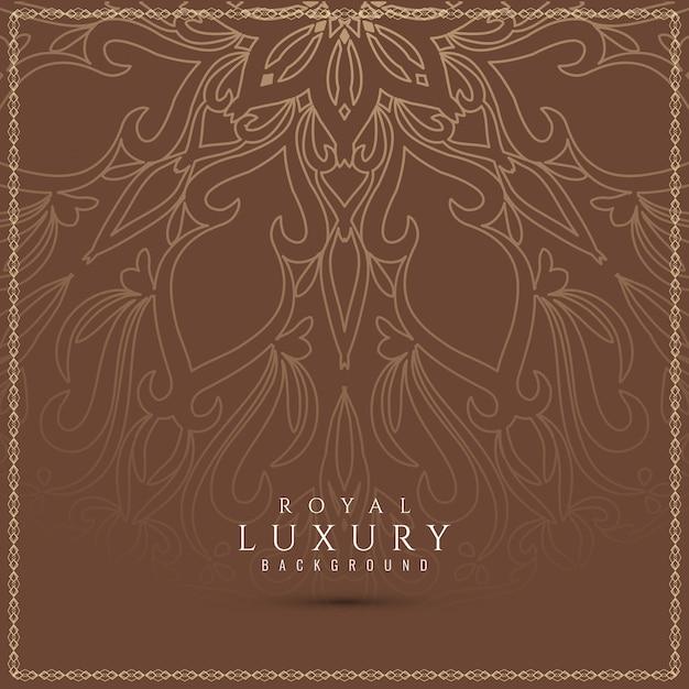 Abstrakter eleganter schöner luxushintergrund Kostenlosen Vektoren