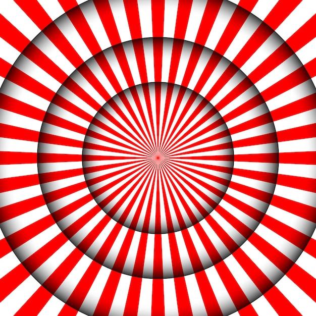 Abstrakter festlicher hintergrund. weiße linien und scheinwerfer der zirkusbühne. Premium Vektoren