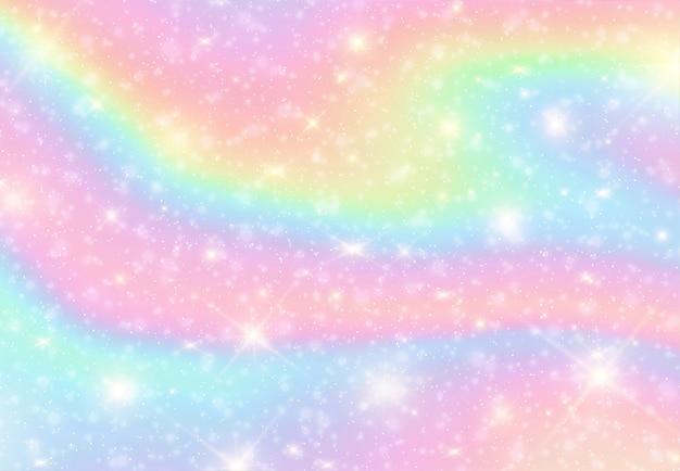 Abstrakter flüssiger regenbogenfarbhintergrund Premium Vektoren