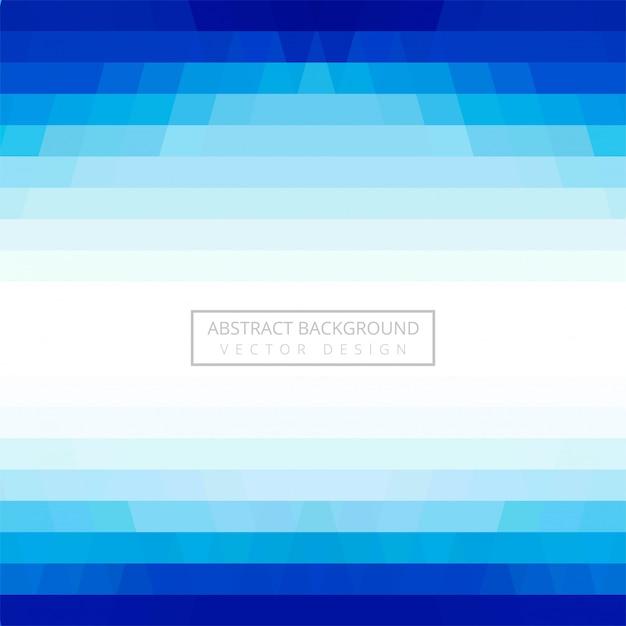 Abstrakter geometrischer blauer hintergrundvektor Kostenlosen Vektoren