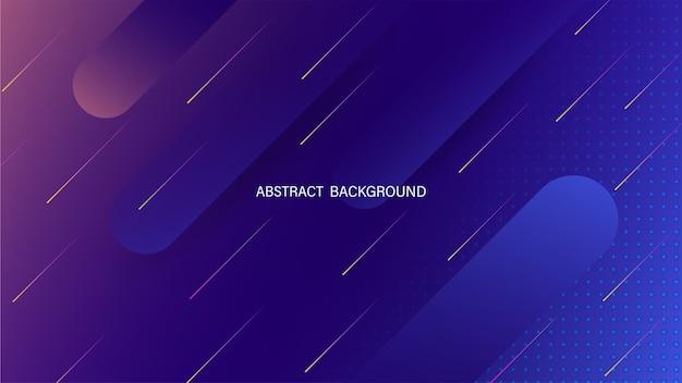 Abstrakter geometrischer flüssiger dynamischer hintergrund. minimale flüssigkeitsform. futuristischer abstrakter hintergrund. lager . Premium Vektoren